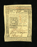 Colonial Notes:Pennsylvania, Pennsylvania October 1, 1773 50s Choice New. A lovely example ofthe highest denomination from this issue. The margins are ...