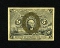 Fractional Currency:Second Issue, Fr. 1234 5c Second Issue Choice About New+++. A light cornerfold keeps this scarcer number from a much higher grade....