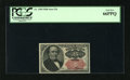 Fractional Currency:Fifth Issue, Fr. 1309 25c Fifth Issue PCGS Gem New 66PPQ. Margins are at least2mm on this note....