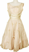 "Music Memorabilia:Costumes, Autographed Poni-Tails Dress Worn on ""American Bandstand."" A pink taffeta dress worn by original Poni-Tails member LaVerne N... (Total: 1 Item)"