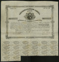 Confederate Notes:Group Lots, Ball 90 $500 1861 Bond Fine. This bond has the portrait of Judah P.Benjamin. Benjamin was a Yale graduate, class of 1828. T...