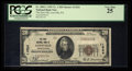 National Bank Notes:Pennsylvania, Loysville, PA - $20 1929 Ty. 1 The First NB Ch. # 11524. ...