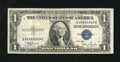 Error Notes:Skewed Reverse Printing, Fr. 1612 $1 1935C Silver Certificate. Fine-Very Fine.. Three extrawide margins are found on this note that has its back pri...
