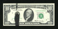Error Notes:Ink Smears, Fr. 2020-G $10 1969B Federal Reserve Note. Gem Crisp Uncirculated..A black ink smear interrupts the left-hand serial number...