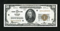 Small Size:Federal Reserve Bank Notes, Fr. 1870-G $20 1929 Federal Reserve Bank Note. Extremely Fine-About Uncirculated.. This is a lightly handled bright note....