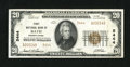National Bank Notes:Pennsylvania, Bath, PA - $20 1929 Ty. 2 The First NB Ch. # 5444. Just a little bit more handling than what should be seen for an XF gr...