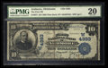 National Bank Notes:Oklahoma, Ardmore, OK - $10 1902 Plain Back Fr. 627 The First NB Ch. # (W)4393. ...