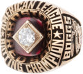 Baseball Collectibles:Others, 1983 Wade Boggs American League Batting Championship Ring....