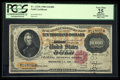 Large Size:Gold Certificates, Fr. 1225h $10000 1900 Gold Certificate PCGS Apparent Very Fine 25.. ...