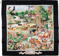 Luxury Accessories:Accessories, Hermes Limited Edition Madison Avenue 10 Years Silk Scarf. ...