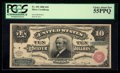 Large Size:Silver Certificates, Fr. 292 $10 1886 Silver Certificate PCGS Choice About New 55PPQ.. ...