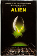 Books:Science Fiction & Fantasy, Alan Dean Foster. Alien. London: Macdonald General Books, [1979]. First British edition, first printing. Octavo....