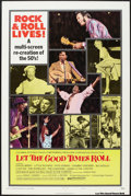 """Movie Posters:Rock and Roll, Let the Good Times Roll (Columbia, 1973). One Sheet (27"""" X 41"""") Style B. Rock and Roll.. ..."""