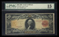 Large Size:Gold Certificates, Fr. 1180 $20 1905 Gold Certificate PMG Choice Fine 15.. ...