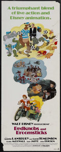 "Movie Posters:Animated, Bedknobs and Broomsticks (Buena Vista, R-1979). Insert (14"" X 36"").Adventure. Starring Angela Lansbury, David Tomlinson, Ro..."