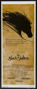 "Movie Posters:Adventure, The Black Stallion (United Artists, 1979). Insert (14"" X 36"").Adventure. Starring Kelly Reno, Mickey Rooney, Teri Garr, Cla..."