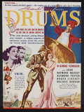 "Movie Posters:Adventure, Drums (United Artists, 1938). Herald (8.75"" X 9.5""). Adventure.Starring Sabu, Raymond Massey, Roger Livesey, Valerie Hobson..."