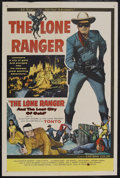 """Movie Posters:Western, The Lone Ranger and the Lost City of Gold (United Artists, 1958). One Sheet (27"""" X 41""""). Western. """"Hi Yo, Silver, Away!"""" The..."""