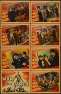 """Movie Posters:Crime, The Man Who Dared (Warner Brothers, 1939). Lobby Card Set of 8 (11""""X 14""""). Crime. Starring Jane Bryan, Charley Grapewin, He... (Total:8 Item)"""