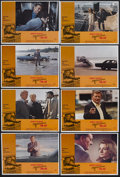 "Movie Posters:Action, McQ (Warner Brothers, 1974). Lobby Card Set of 8 (11"" X 14"").Crime. Starring John Wayne, Eddie Albert, Diana Muldaur, Colle...(Total: 8 Item)"