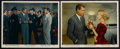 """Movie Posters:Hitchcock, North by Northwest (MGM, 1959). Color Stills (2) (8"""" X 10"""").Thriller. Starring Cary Grant, Eva Marie Saint, James Mason and...(Total: 2 Items)"""
