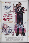 "Movie Posters:James Bond, Octopussy (MGM - UA, 1982). One Sheet (27"" X 41""). James BondAction. Starring Roger Moore, Maud Adams, Louis Jourdan, Krist..."