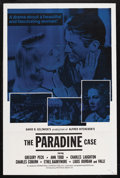 """Movie Posters:Hitchcock, The Paradine Case (International Coproductions, Inc., R-1960s). One Sheet (27"""" X 41""""). Mystery. Starring Gregory Peck, Ann T..."""