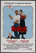 """Movie Posters:Animated, Popeye (Paramount, 1939). One Sheet (27"""" X 41""""). Adventure. Starring Robin Williams, Shelley Duvall, Ray Walston and Paul L...."""