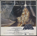 "Movie Posters:Science Fiction, Star Wars (20th Century Fox, 1977). International Six Sheet (77"" X77""). Sci-Fi Action. Starring Mark Hamill, Harrison Ford,..."