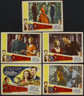 "Movie Posters:Adventure, Stronghold (Lippert, 1952). Title Lobby Card (11"" X 14"") and LobbyCards (4) (11"" X 14""). Adventure. Starring Veronica Lake,...(Total: 5 Items)"