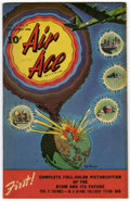 "Golden Age (1938-1955):War, Air Ace V3#2 Davis Crippen (""D"" Copy) pedigree (Street & Smith,1946) Condition: VF+. Atomic explosion cover. Overstreet 200..."