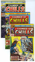 Bronze Age (1970-1979):Horror, Chamber of Chills Group (Marvel, 1973-76). Includes #7 (VF+), 11(VF+), 18 (VF), 19 (VF), and 22 (VG). Approximate Overstree...(Total: 5 Comic Books)