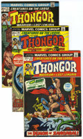 Bronze Age (1970-1979):Horror, Creatures on the Loose Group (Marvel, 1972-74) Condition: AverageVF/NM. Includes #16 (origin of Warrior of Mars), 17, 18, 2...(Total: 7 Comic Books)