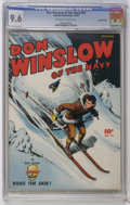 Golden Age (1938-1955):War, Don Winslow of the Navy #41 Crowley Copy pedigree (Fawcett, 1946)CGC NM+ 9.6 Off-white to white pages. Overstreet 2006 NM- ...