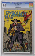 "Golden Age (1938-1955):Superhero, Dynamic Comics #22 Davis Crippen (""D"" Copy) pedigree (Chesler, 1947) CGC VF/NM 9.0 Cream to off-white pages. The first copy ..."