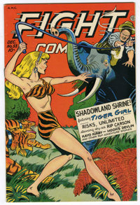 Fight Comics #53 Mile High pedigree (Fiction House, 1947) Condition: VF/NM. Matt Baker and Jack Kamen art. Overstreet 20...