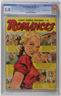 "Golden Age (1938-1955):Romance, Giant Comics Editions #15 Romances - Davis Crippen (""D"" Copy)pedigree (St. John, 1950) CGC VG/FN 5.0 Off-white to white pages..."