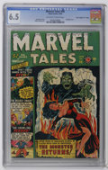"Golden Age (1938-1955):Horror, Marvel Tales #96 Davis Crippen (""D"" Copy) pedigree (Atlas, 1950)CGC FN+ 6.5 Off-white to white pages. Bondage cover. Syd Sh..."
