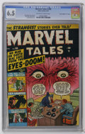 """Golden Age (1938-1955):Horror, Marvel Tales #100 Davis Crippen (""""D"""" Copy) pedigree (Atlas, 1951)CGC FN+ 6.5 Off-white to white pages. Don't miss out on th..."""