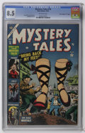 "Golden Age (1938-1955):Horror, Mystery Tales #16 Davis Crippen (""D"" Copy) pedigree (Atlas, 1953)CGC VF+ 8.5 Off-white pages. Paul Reinman art. Overstreet ..."