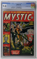 "Golden Age (1938-1955):Horror, Mystic #15 Davis Crippen (""D"" Copy) pedigree (Atlas, 1952) CGCVF/NM 9.0 Off-white to white pages. Joe Maneely cover. John R..."