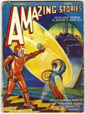 Pulps:Science Fiction, Amazing Stories Group (Ziff-Davis, 1929-32) Condition: Average GD.Includes May, 1929; August, 1929; September, 1929; August...(Total: 10 Items)
