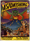Golden Age (1938-1955):Horror, Astonishing Stories Pulp Group (Atlas, 1940-42) Condition: AverageVG+. Contains August, 1940; April, 1941 (Robert Heinlein ...(Total: 7 Items)