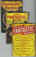 Pulps:Science Fiction, Famous Fantastic Mysteries Group (Frank A. Munsey Co., 1939-45).Contains September-October, 1939 (first issue of the series...(Total: 5 Items)