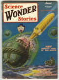 Pulps:Science Fiction, Science Wonder Stories Group (Stellar Publishing, 1929-32)Condition: Average VG. Comprised of June, 1929 (first issue ofth...