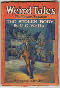Pulps:Horror, Weird Tales (Pulp) 1925-11 (Popular Fiction, 1925) Condition:GD/VG. Bookery's Guide to Pulps GD 2.0 value = $120; VG 4.0 va...
