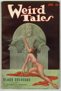 Pulps:Horror, Weird Tales (Pulp) Group (Popular Fiction, 1932-33) Condition:Average FN. Includes August, 1932; September, 1932 (first Mar...(Total: 5 Items)