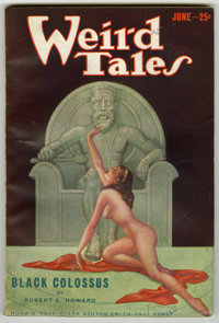 Weird Tales (Pulp) Group (Popular Fiction, 1932-33) Condition: Average FN. Includes August, 1932; September, 1932 (first...