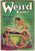 Pulps:Horror, Weird Tales (Pulp) Group (Popular Fiction, 1935-36) Condition:Average VG+. Contains May, 1935; July, 1935; August, 1935 (fi...