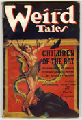 Pulps:Horror, Weird Tales (Pulp) Group (Popular Fiction, 1936-38) Condition:Average VG- 3.5. Includes the issues from August-September, 1...(Total: 8 Items)